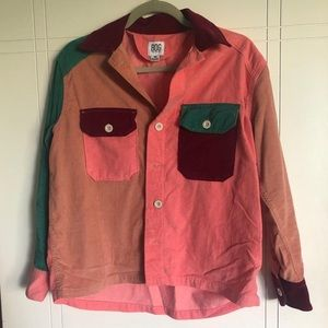 Multicolor Button Down